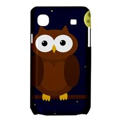 Cute owl Samsung Galaxy SL i9003 Hardshell Case