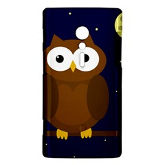 Cute owl Sony Xperia ion