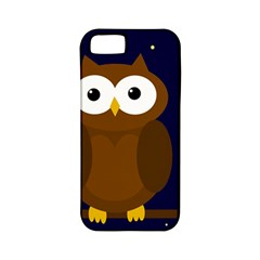 Cute owl Apple iPhone 5 Classic Hardshell Case (PC+Silicone)