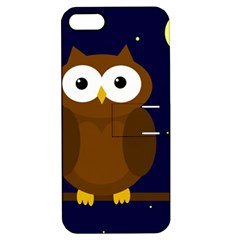 Cute owl Apple iPhone 5 Hardshell Case with Stand