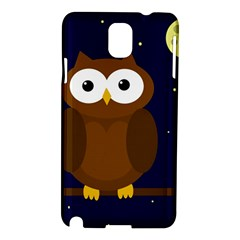 Cute owl Samsung Galaxy Note 3 N9005 Hardshell Case