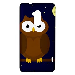 Cute owl HTC One Max (T6) Hardshell Case