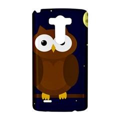 Cute owl LG G3 Hardshell Case