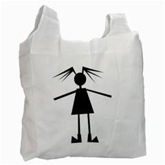 Teenage girl Recycle Bag (Two Side)