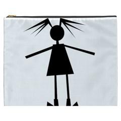 Teenage girl Cosmetic Bag (XXXL)
