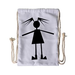 Teenage girl Drawstring Bag (Small)