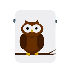 Cute transparent brown owl Apple iPad 2/3/4 Protective Soft Cases