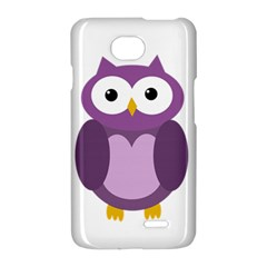 Purple transparetn owl LG Optimus L70