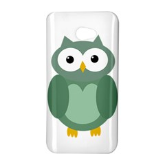 Green cute transparent owl HTC Butterfly S/HTC 9060 Hardshell Case