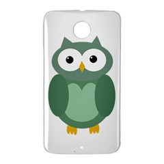 Green cute transparent owl Nexus 6 Case (White)