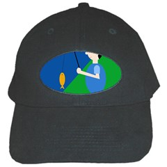Fisherman Black Cap