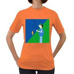 Fisherman Women s Dark T-Shirt