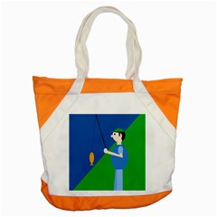 Fisherman Accent Tote Bag