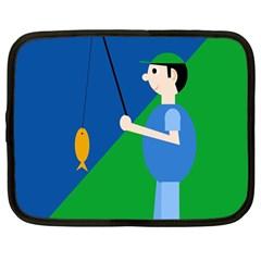 Fisherman Netbook Case (Large)