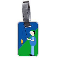 Fisherman Luggage Tags (One Side)