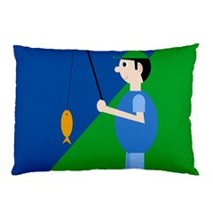 Fisherman Pillow Case (Two Sides)