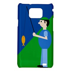 Fisherman Samsung Galaxy S2 i9100 Hardshell Case