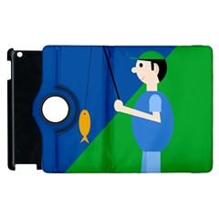Fisherman Apple iPad 3/4 Flip 360 Case