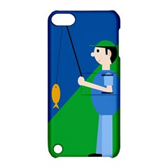 Fisherman Apple iPod Touch 5 Hardshell Case with Stand