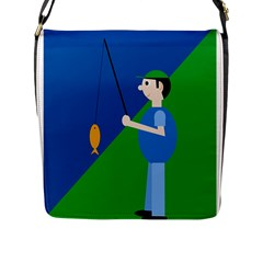 Fisherman Flap Messenger Bag (L)