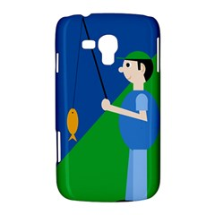 Fisherman Samsung Galaxy Duos I8262 Hardshell Case