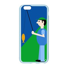 Fisherman Apple Seamless iPhone 6/6S Case (Color)