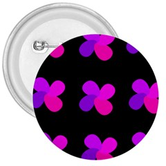 Purple flowers 3  Buttons