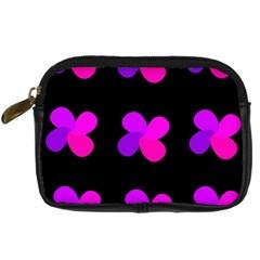 Purple flowers Digital Camera Cases