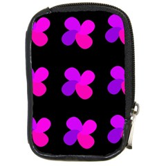 Purple flowers Compact Camera Cases