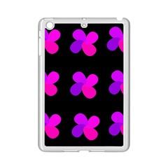 Purple flowers iPad Mini 2 Enamel Coated Cases