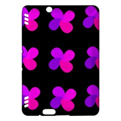Purple flowers Kindle Fire HDX Hardshell Case