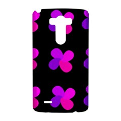 Purple flowers LG G3 Hardshell Case