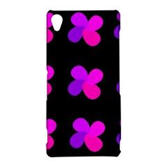 Purple flowers Sony Xperia Z3