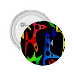 Colorful abstract pattern 2.25  Buttons