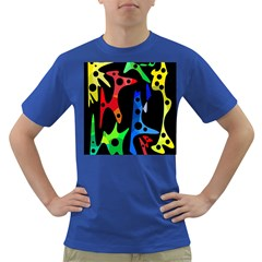 Colorful abstract pattern Dark T-Shirt
