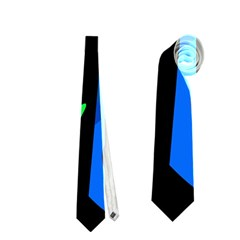 Colorful abstract pattern Neckties (One Side)