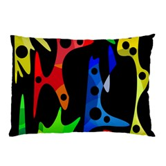 Colorful abstract pattern Pillow Case