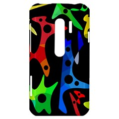 Colorful abstract pattern HTC Evo 3D Hardshell Case