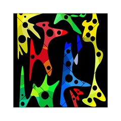 Colorful abstract pattern Acrylic Tangram Puzzle (6  x 6 )