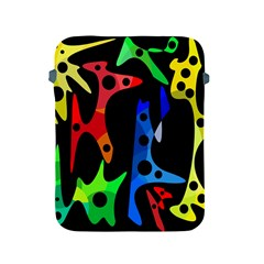 Colorful abstract pattern Apple iPad 2/3/4 Protective Soft Cases