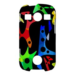 Colorful abstract pattern Samsung Galaxy S7710 Xcover 2 Hardshell Case