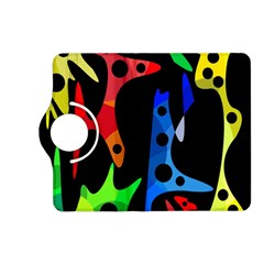 Colorful abstract pattern Kindle Fire HD (2013) Flip 360 Case