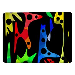 Colorful abstract pattern Samsung Galaxy Tab Pro 12.2  Flip Case