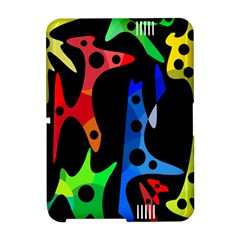 Colorful abstract pattern Amazon Kindle Fire (2012) Hardshell Case