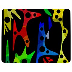 Colorful Abstract Pattern Jigsaw Puzzle Photo Stand (rectangular)