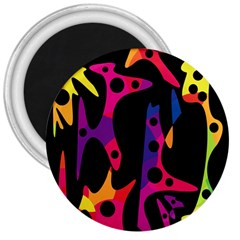Colorful pattern 3  Magnets