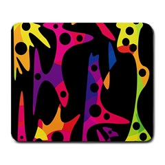 Colorful pattern Large Mousepads