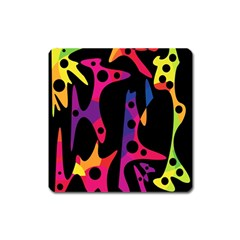 Colorful pattern Square Magnet