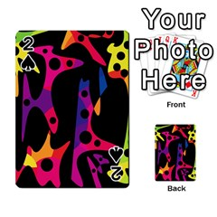 Colorful pattern Playing Cards 54 Designs