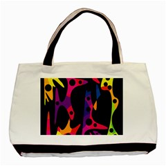 Colorful pattern Basic Tote Bag (Two Sides)